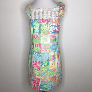 Lilly Pulitzer States Dress 0 Sleeveless with Bows